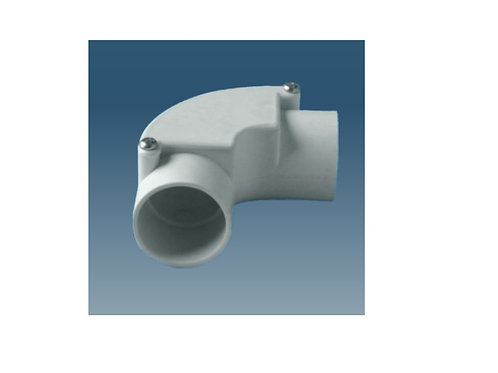 32mm Grey Inspection Elbow