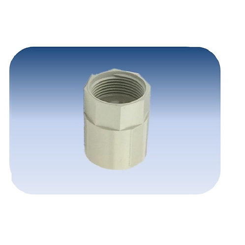 20mm Plain to Screwed Coupling