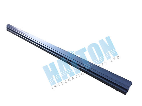 50mm x 14mm BLACK PVC FUSCIA Length 6.5M