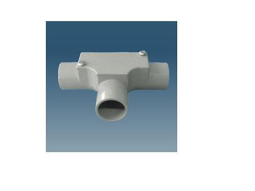 20mm Grey Inspection Tee