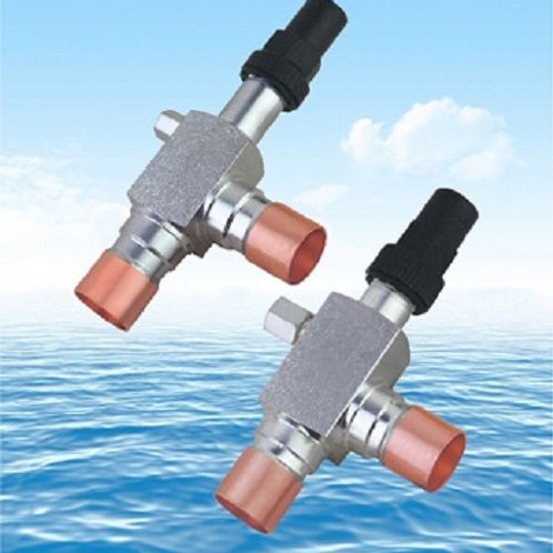 Angle Valves with Copper Connection for Refrigeration suction JN22-D12D12G1-TP