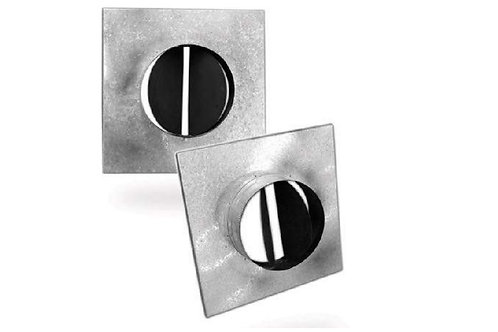 NA-LD-STR-Y 375mm x 350mm NECK ADAPTOR FOR LD (SQUARE TO ROUND)