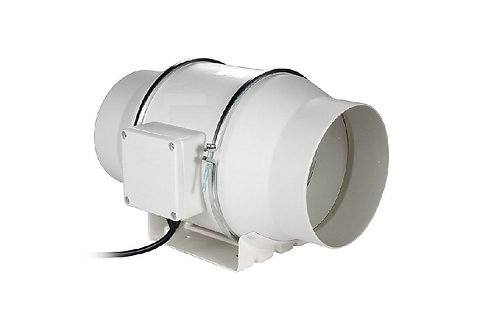 "5""125mm Two Speed Silent Mixedflow Inline Duct Fan"