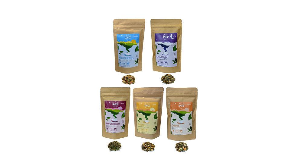 All Teas Presentation 5 Flavours 2 Reihe