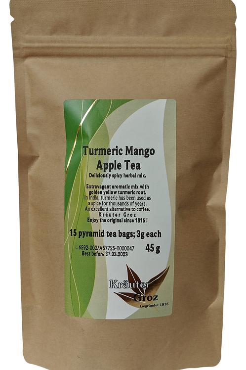 Turmeric Mango Apple Tea