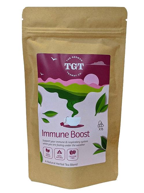 TGT Immune Boost Tea with Ribwort & Liquorice (15 Teabags)