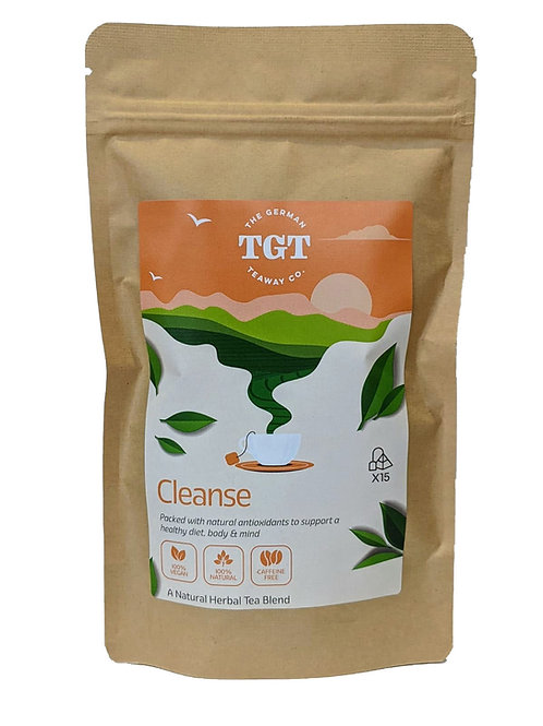 TGT Cleanse Tea with Lemongrass & Hibiscus (15 Teabags)