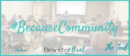 Because Communit Info Session March 2019