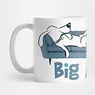 Big Day Couch Dog Mug L Stein
