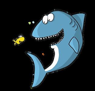 Shark w tiny fish.png