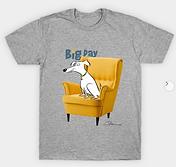 Big Dog Laurie Stein T-shirt