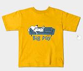 Big Day couch yellow T shirt L Stein