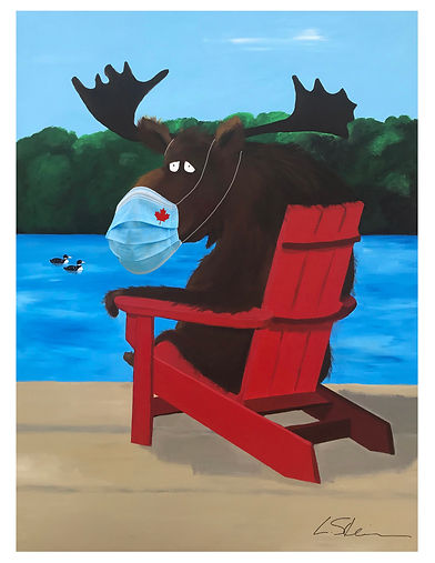 Canadian Moose on red chair.jpg