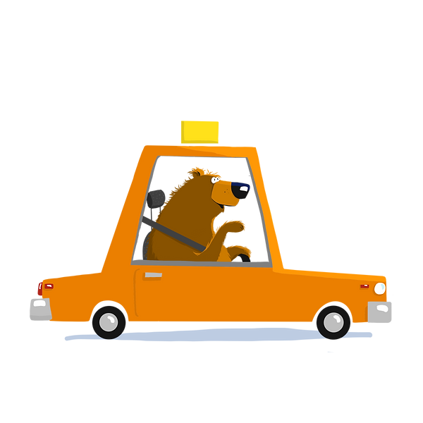 bear in orange taxi.png