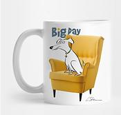 Big Dog Laurie Stein mug