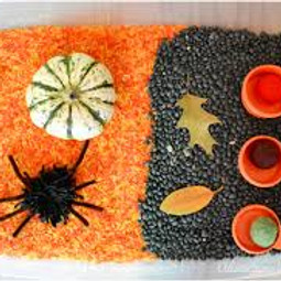 Halloween Toddler Sensory Party (sitting to 2.5yrs)
