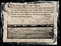 Sarengedeeze Plains