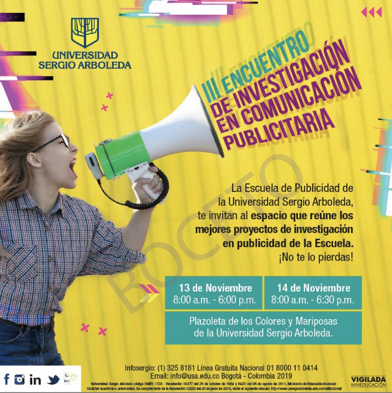 Conferencia en la Sergio Arboleda
