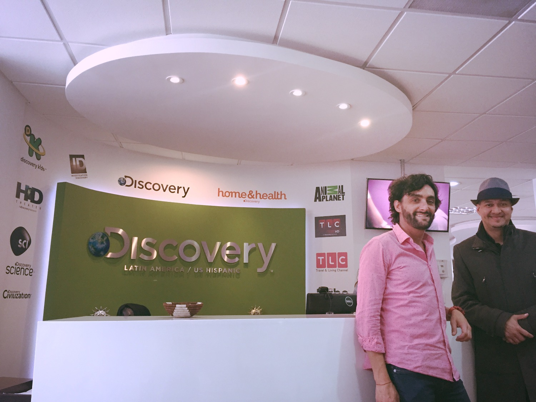 Capacitación en Discovery Channel