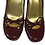 Thumbnail: Trendzone Burgundy Heels Size 9M