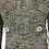 Thumbnail: Women Grey Skirt Suit Size S-M