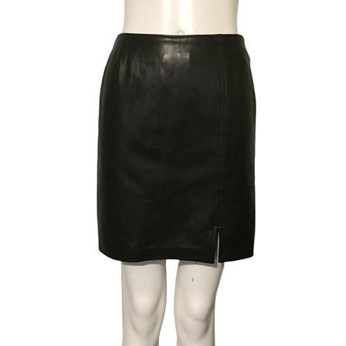 Danier Leather Mini Skirt Size 2