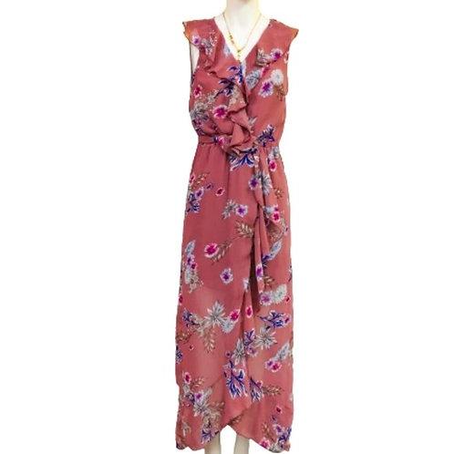 Japna Floral Pink Dress Size SP