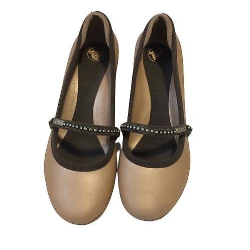 Crocs Light Brown Shoes Size 9