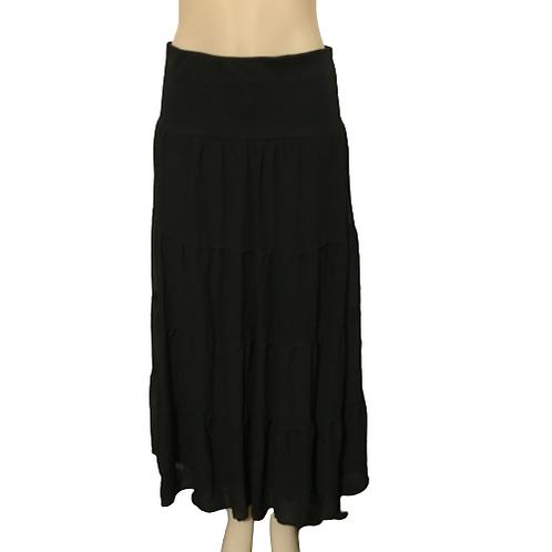 MBLM Black Long Skirt Size 15-16