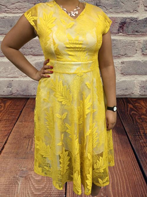 Indian Lacey Dress Size M-L