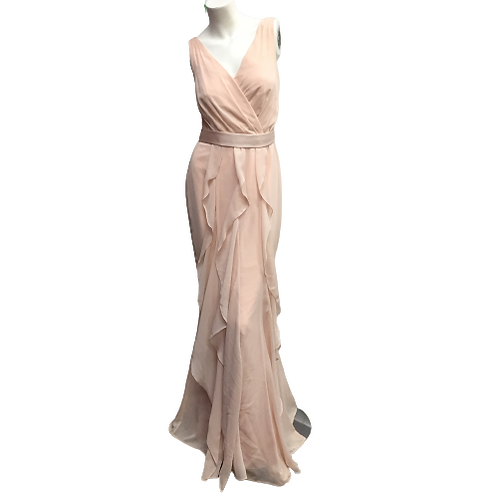 Vera Wang V-Neck Gown Size 8