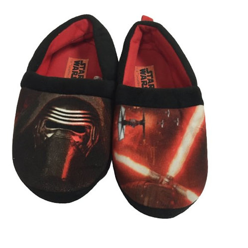 Star Wars Boys Red Slippers  Size 13