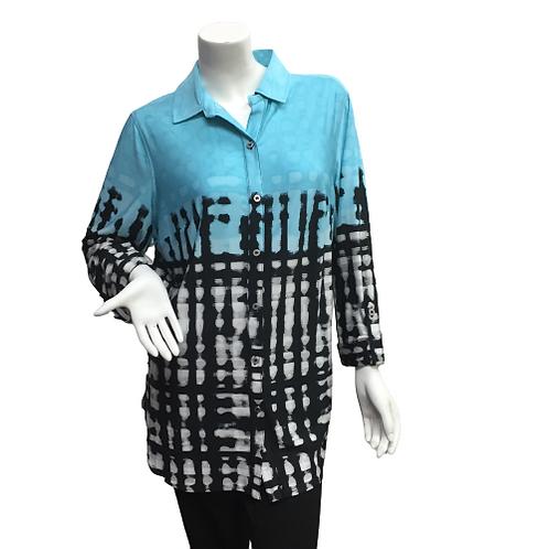 Peter Nygard Pattern Blouse/ Top Size L