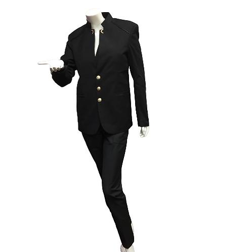 Ladies Black 3 Piece Suit Size L