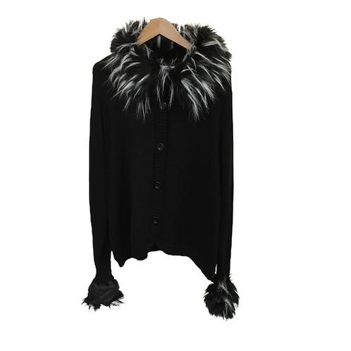 Peter Nygard Missy Fur Jacket Size L