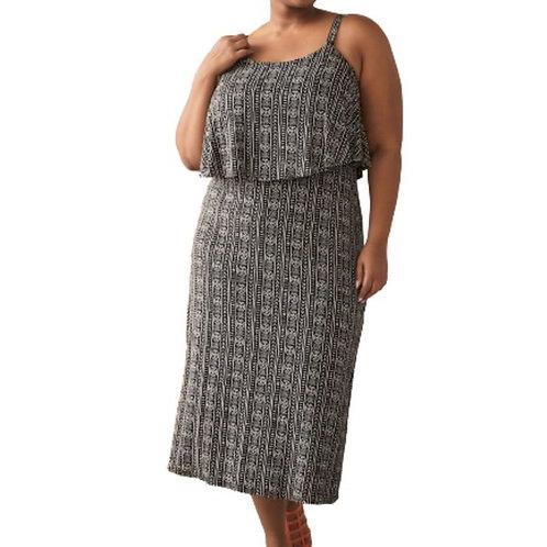 Pennington Printed Maxi Dress Size 2X