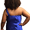 Thumbnail: Esha Couture Blue Dress Size 14