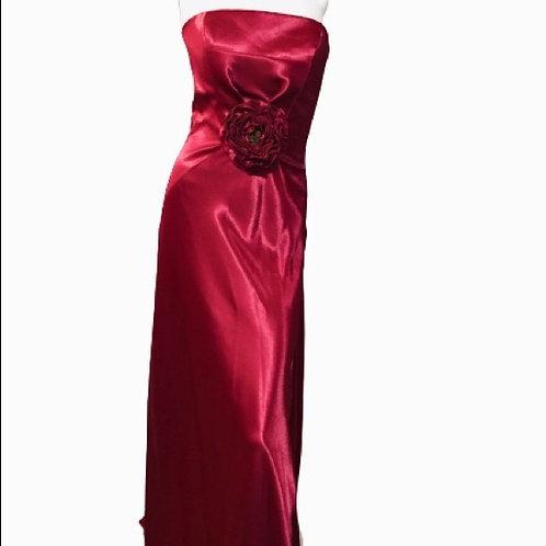 Silky Maroon Dress Size S