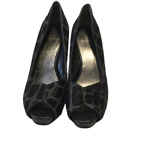 Nine West Print Heels Size 9.5M