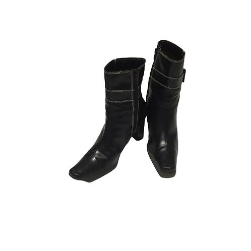 George Ladies Black Boots Size 9