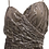 Thumbnail: Morilee  Taupe Shinny Gown Size 14