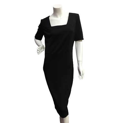 Foggy Ladies Black Dress Size XL