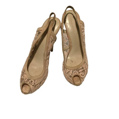 Zara Women Pink Heels Size 12