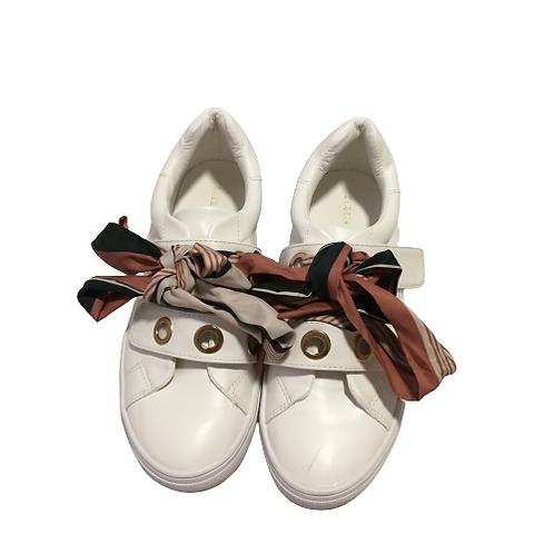 Shein Ladies White Sneakers Size 9