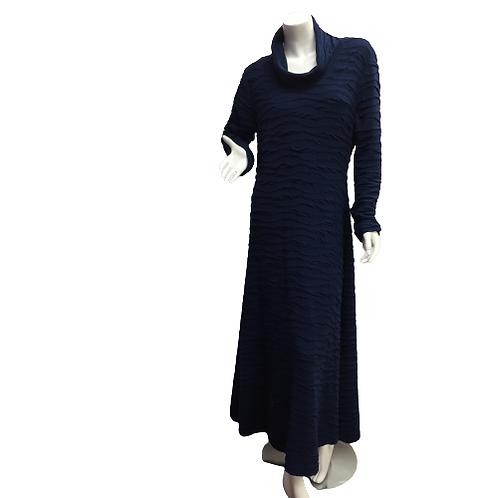 Custom Made Turtle Neck Dress Size L