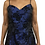 Thumbnail: M Studio Navy Long Dress Size 13-14