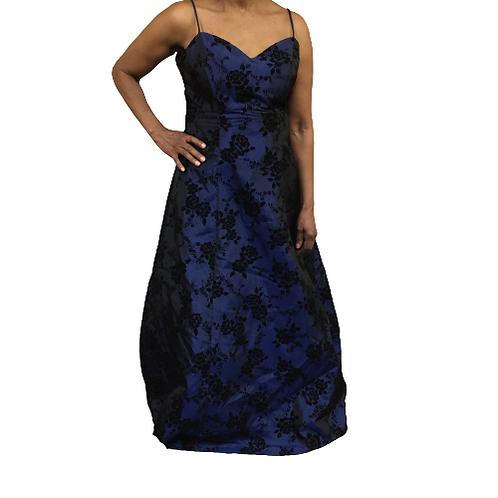 M Studio Navy Long Dress Size 13-14