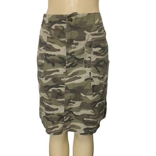 Army Camouflage Skirt Size L