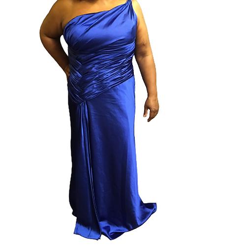 Esha Couture Blue Dress Size 14