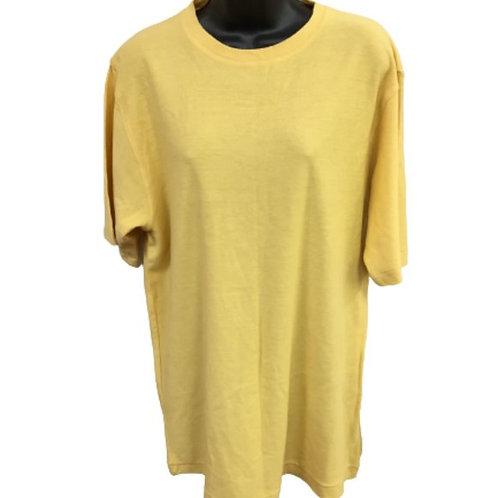 Distinction Women's Yellow Top Size M